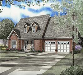 House Plan #153-1761