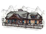 Main image for house plan # 11511
