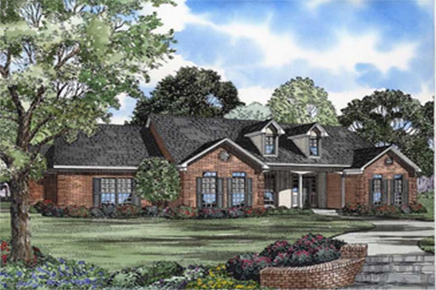 Main image for house plan # 8237