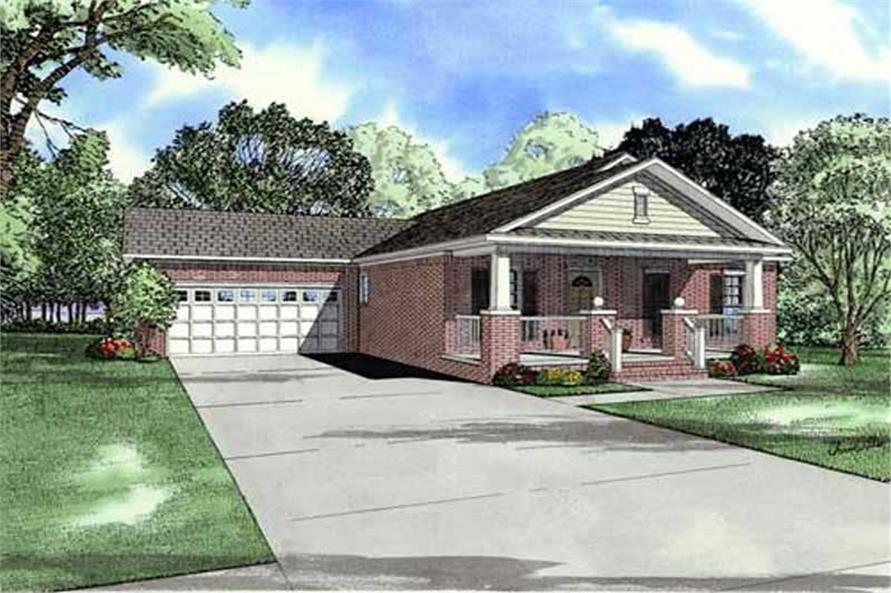 Main image for house plan # 11455