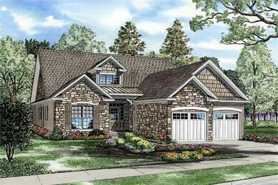 Main image for house plan # 11483