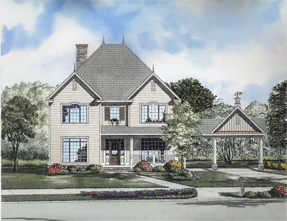 Main image for house plan # 8207