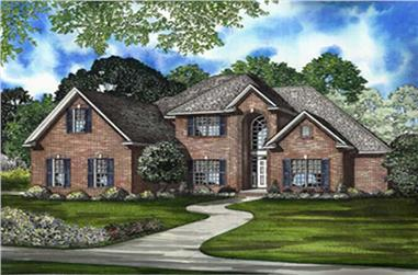 Main image for house plan # 8228