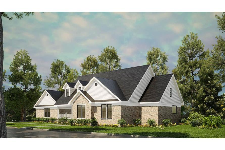 Right View of this 3-Bedroom,1853 Sq Ft Plan -153-1779