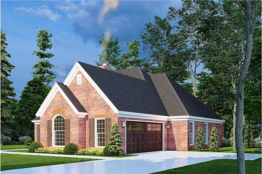 Right View of this 3-Bedroom,1600 Sq Ft Plan -153-1780