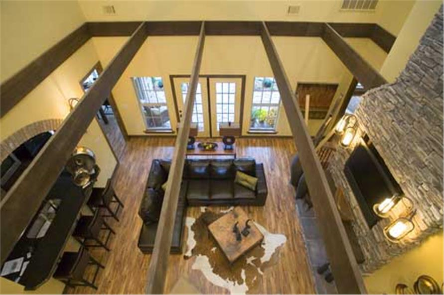 Great Room: Ceiling of this 4-Bedroom,2470 Sq Ft Plan -2470