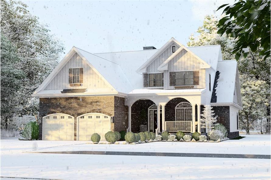 Right View of this 4-Bedroom,2470 Sq Ft Plan -153-1781