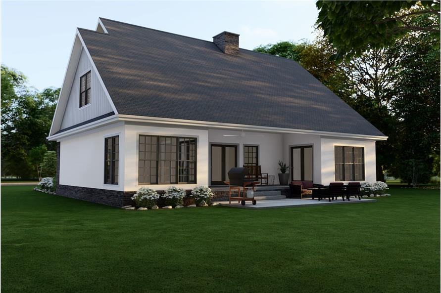 Rear View of this 4-Bedroom,2470 Sq Ft Plan -153-1781