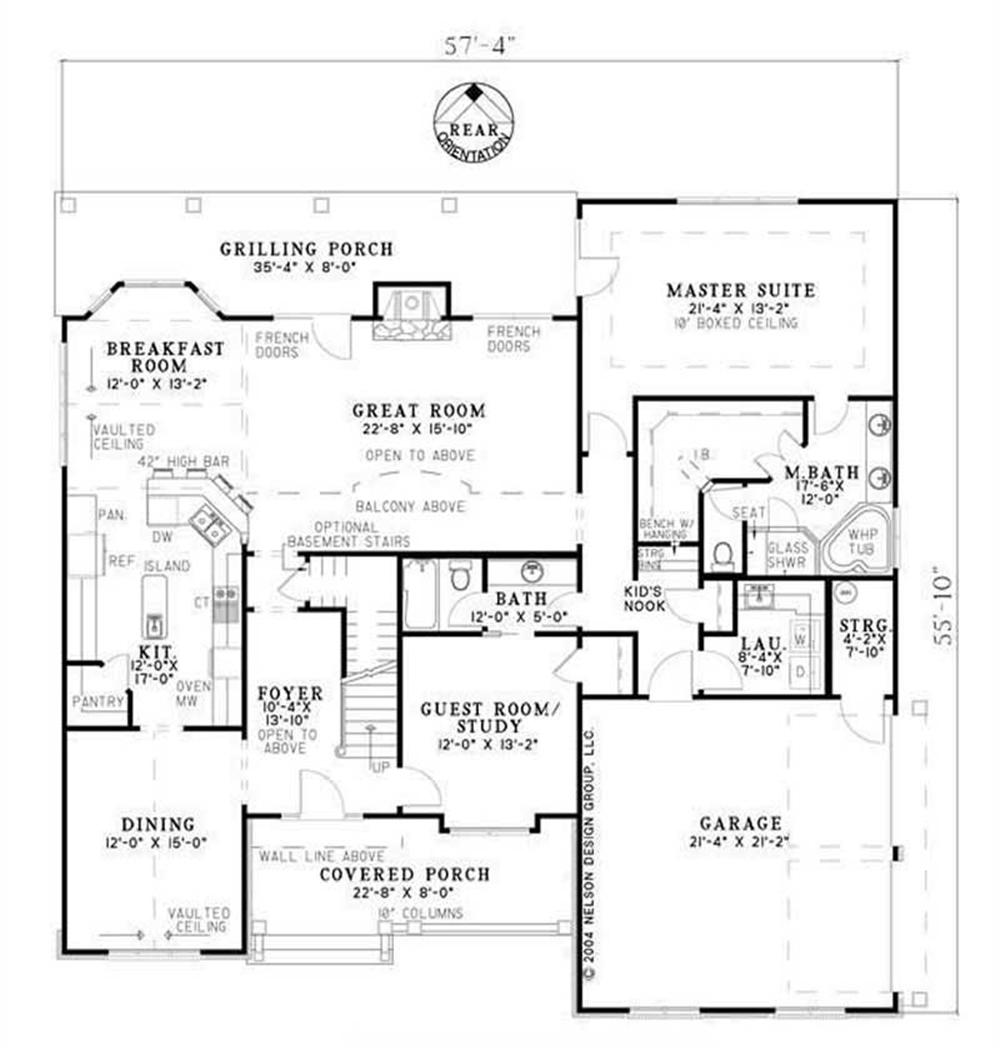 HOUSE PLAN NDG-983B