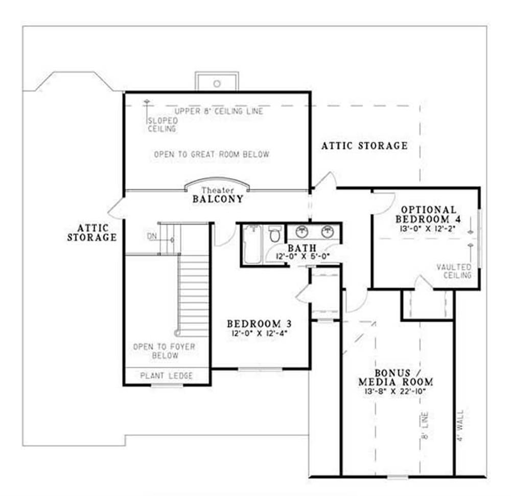 HOME PLAN NDG-983B