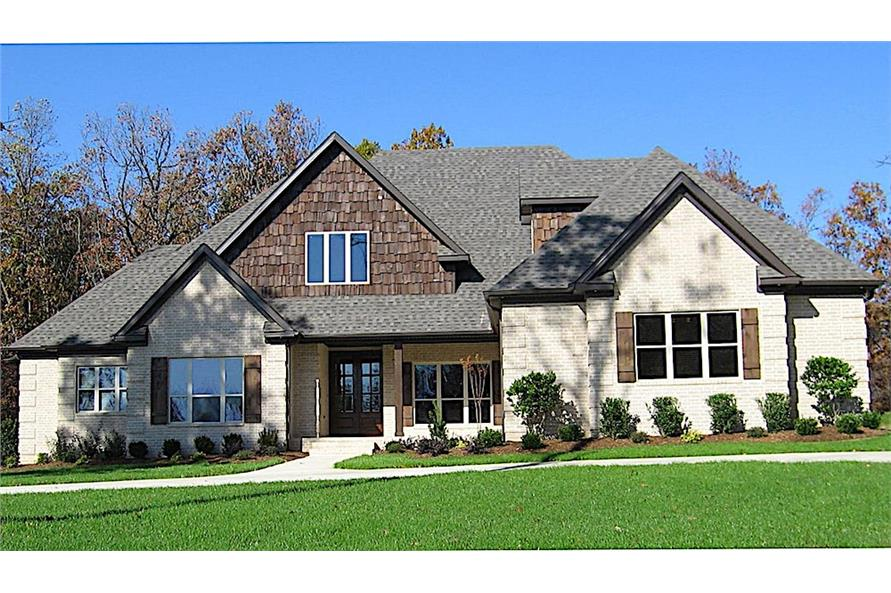 Home Exterior Photograph of this 4-Bedroom,2363 Sq Ft Plan -2363