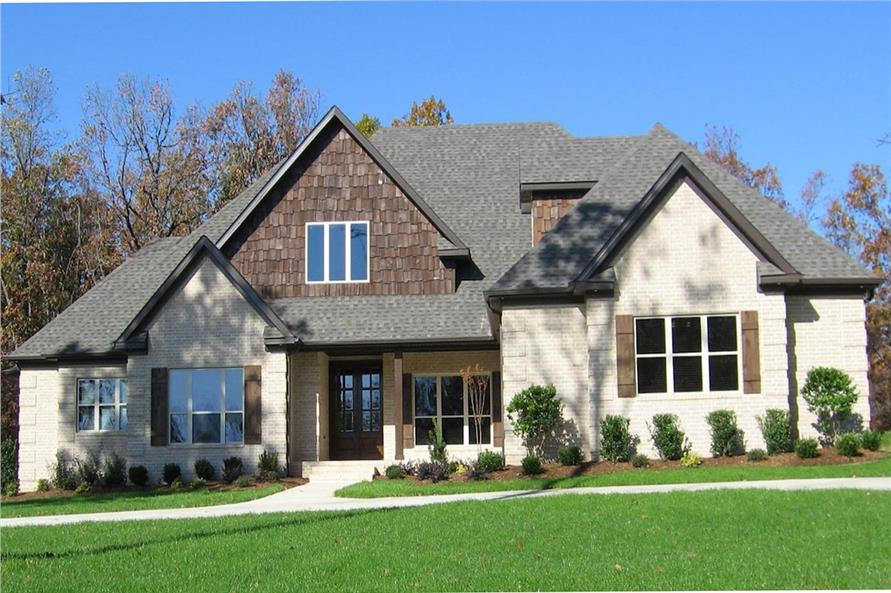 Home Exterior Photograph of this 4-Bedroom,2481 Sq Ft Plan -153-1786