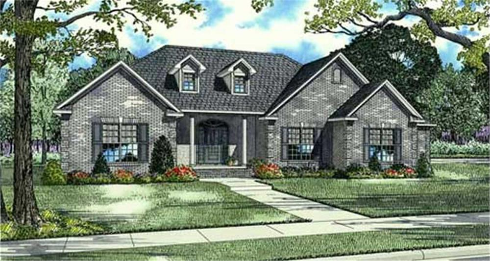 Main image for house plan # 16882