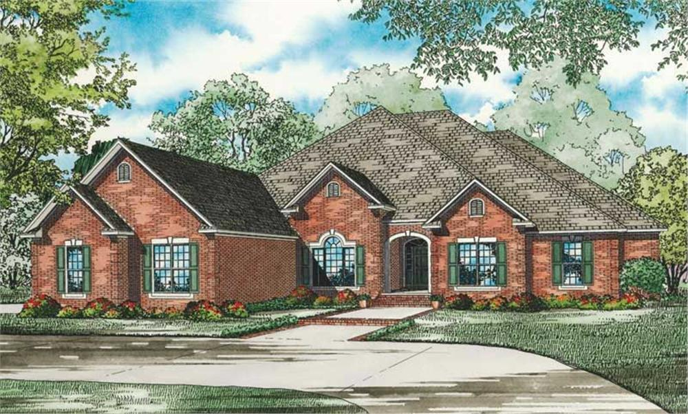 Main image for house plan # 19822