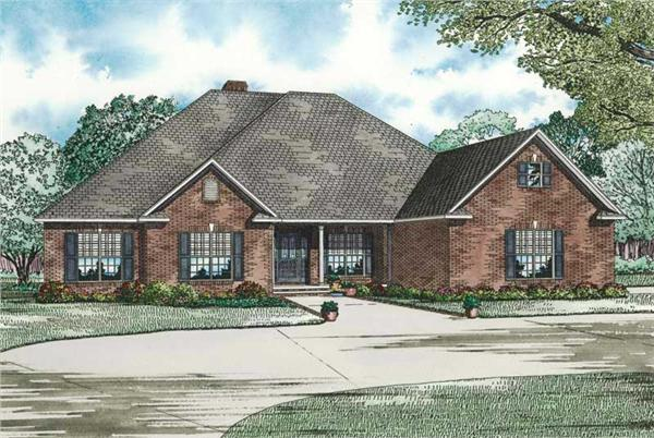 Main image for house plan # 19820