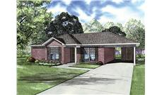 Main image for house plan # 9907