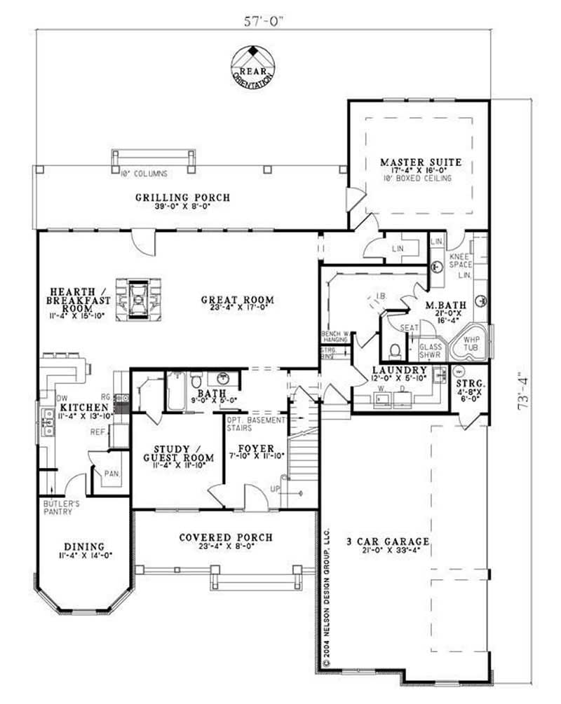 NDG-957B HOUSE PLAN