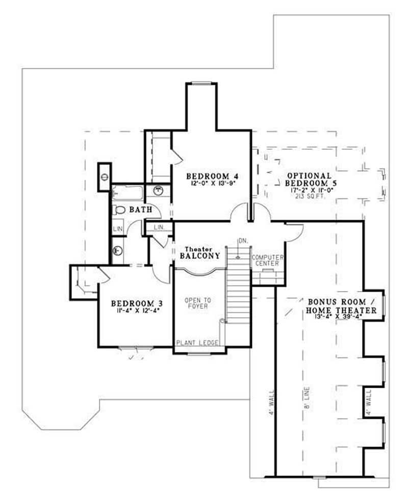 HOUSE PLAN NDG-957
