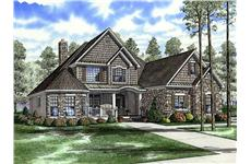Main image for house plan # 17662