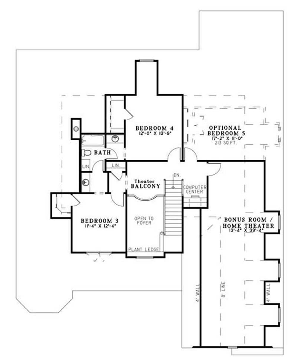 NDG-957 HOUSE PLAN