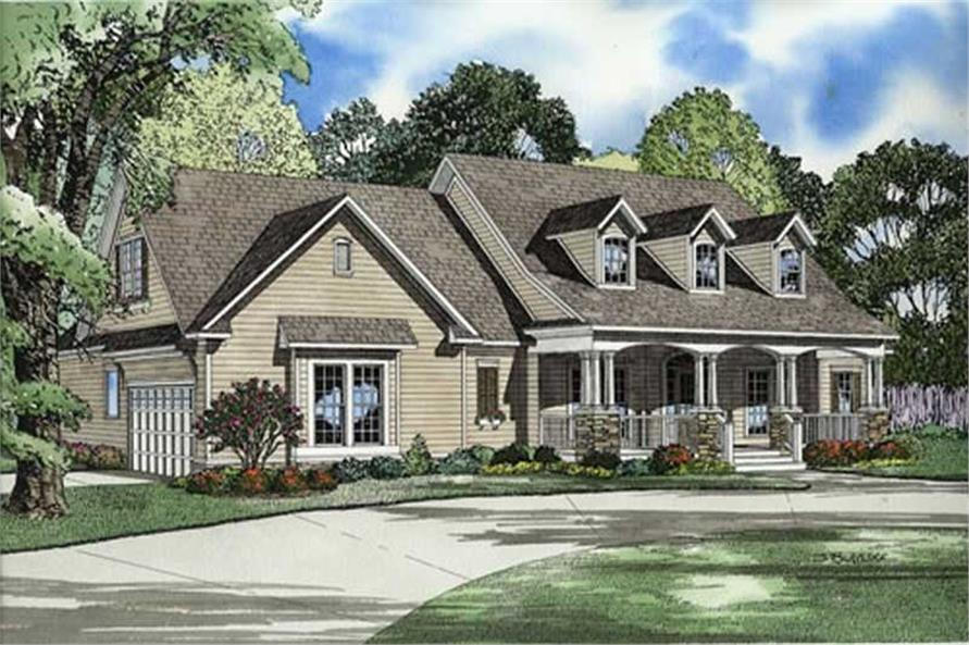 ELEVATION 2 of this 4-Bedroom,2373 Sq Ft Plan -2373
