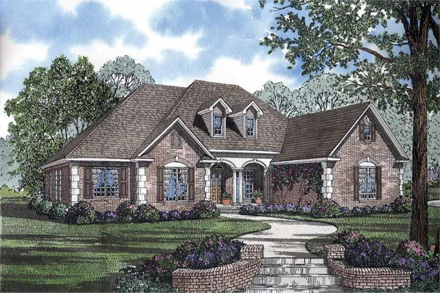 Front Rendering of this 4-Bedroom,2952 Sq Ft Plan -2952