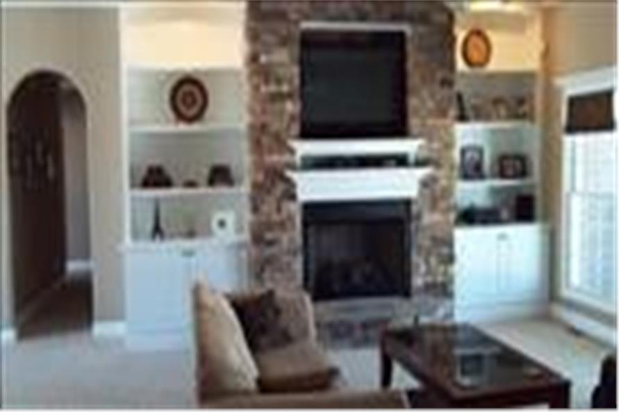 153-1806 house plan great room