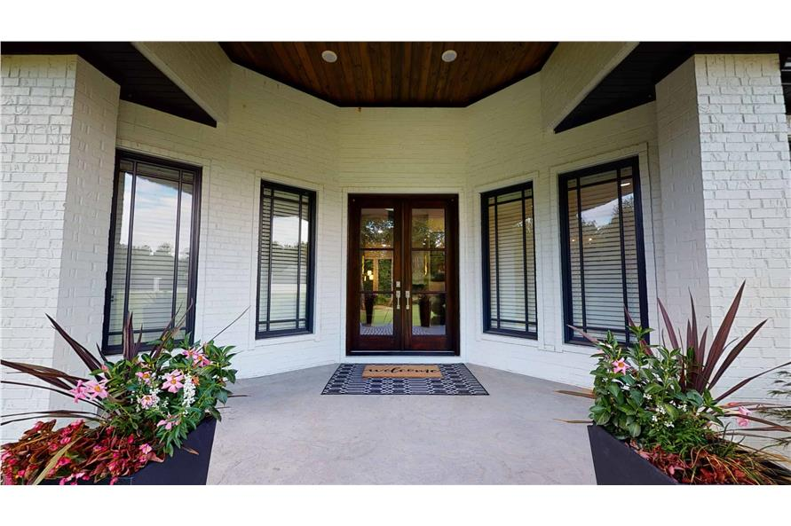 Front Door of this 3-Bedroom,3374 Sq Ft Plan -153-1808