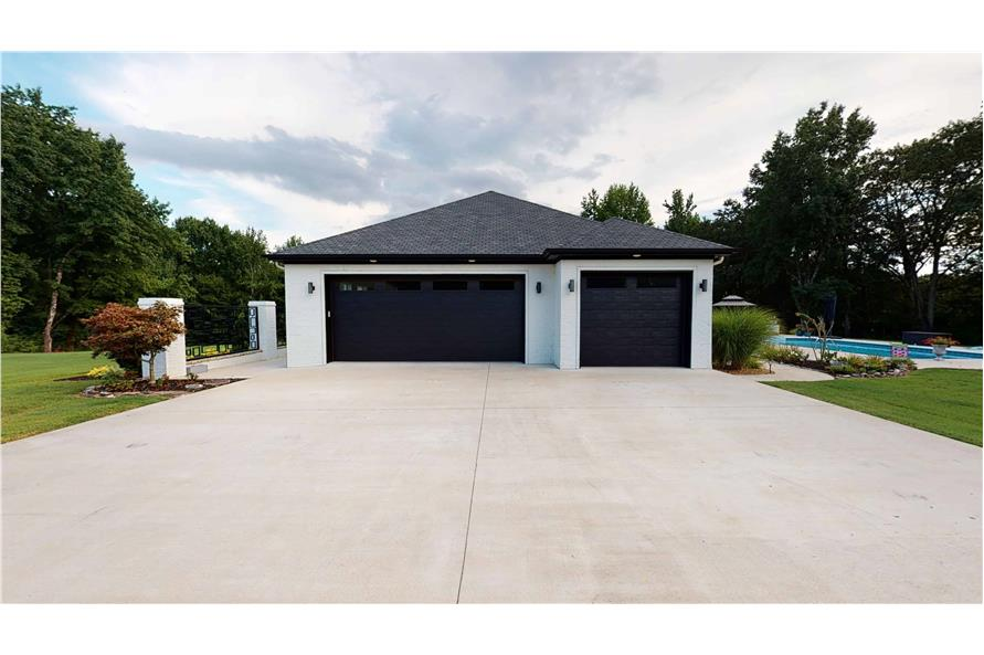 Garage of this 3-Bedroom,3374 Sq Ft Plan -153-1808