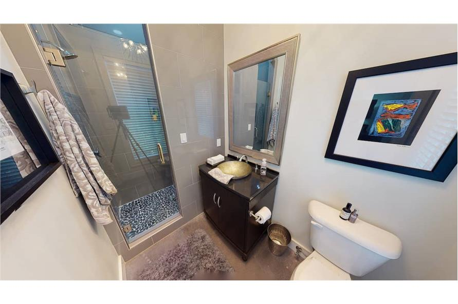 Bathroom of this 3-Bedroom,3374 Sq Ft Plan -153-1808