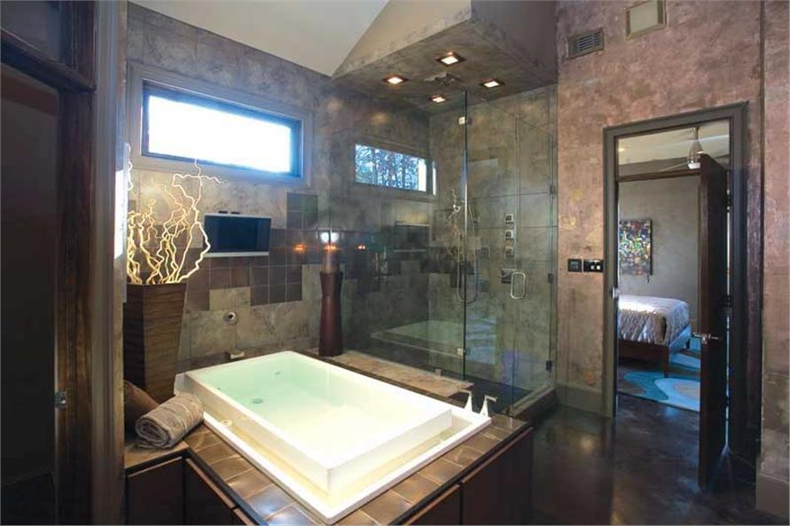 Master Bath of this 3-Bedroom,3374 Sq Ft Plan -3374