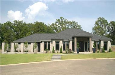3-Bedroom, 3374 Sq Ft Contemporary House - Plan #153-1808 - Front Exterior