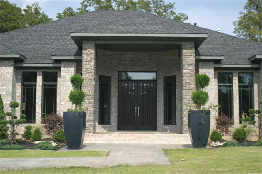 Entry of this 3-Bedroom,3374 Sq Ft Plan -3374