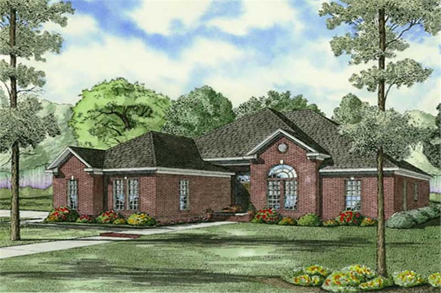 Main image for house plan # 9849