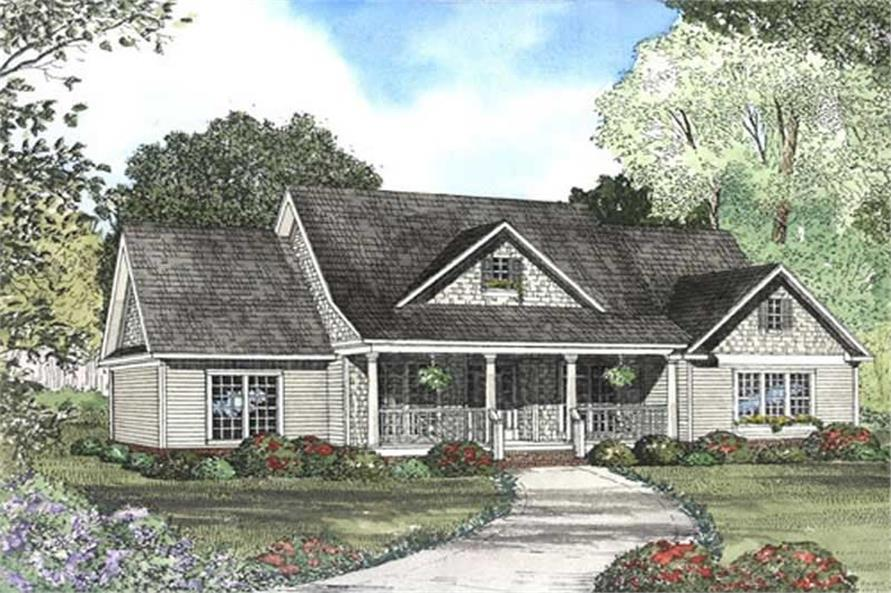 FRONT ELEVATION 2 of this 4-Bedroom,2261 Sq Ft Plan -2261