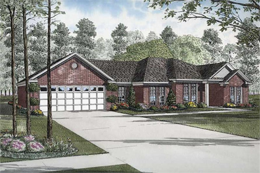 Main image for house plan # 9850
