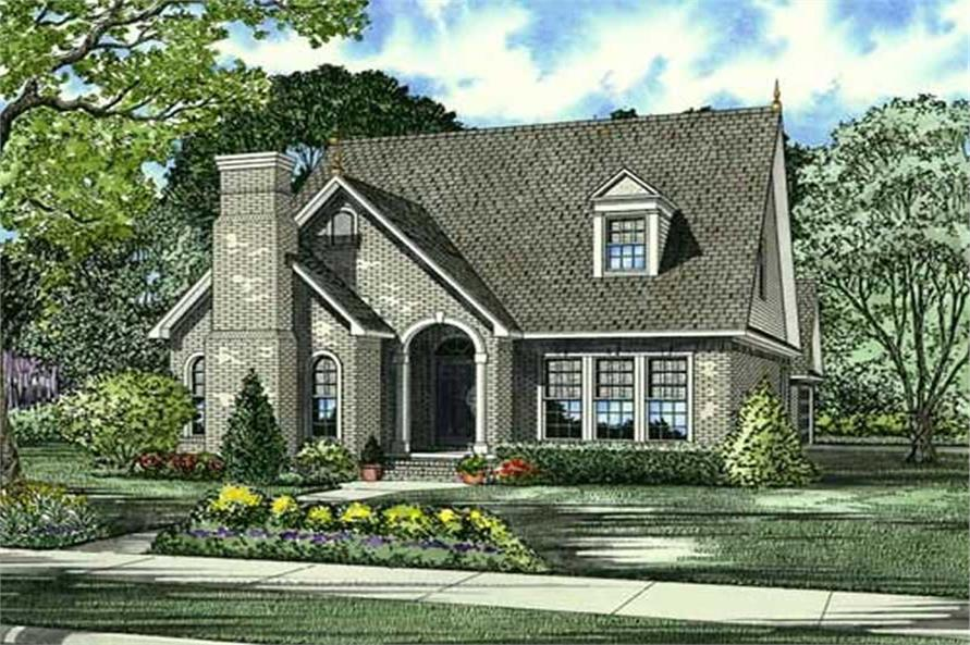 Main image for house plan # 17572