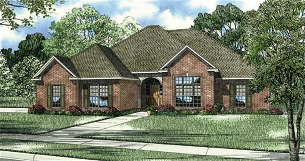 Main image for house plan # 17571