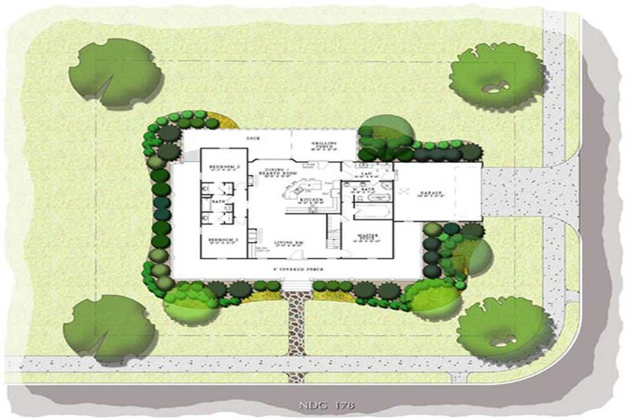 Home Plan Aux Image of this 3-Bedroom,1921 Sq Ft Plan -153-1828