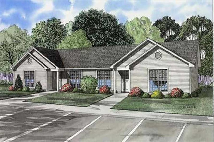 Main image for house plan # 7781