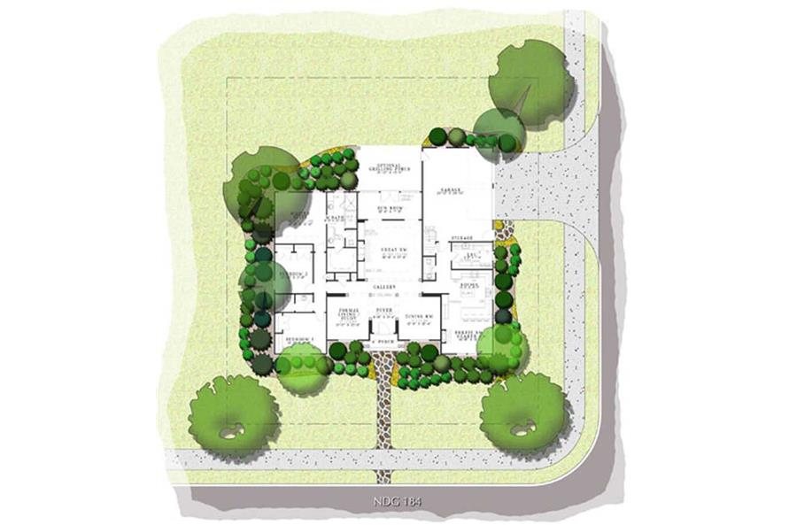 Home Plan Aux Image of this 3-Bedroom,2525 Sq Ft Plan -153-1839