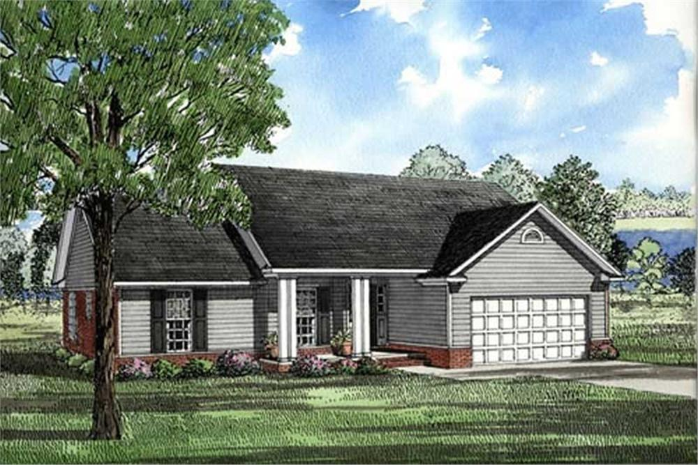 Main image for house plan # 17638