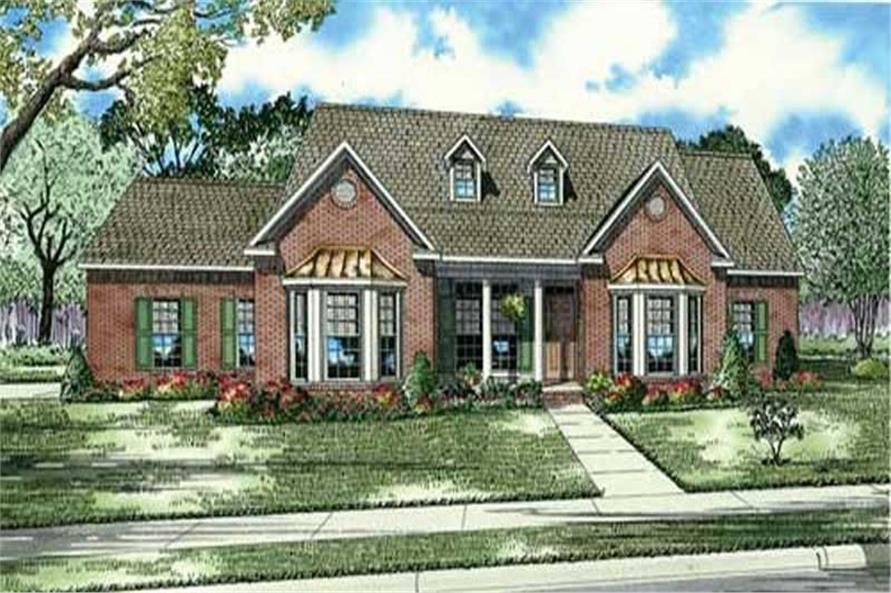 HOUSE PLAN NDG-135B