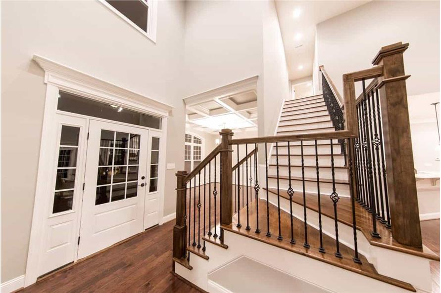 Entry Hall: Staircase of this 4-Bedroom,2585 Sq Ft Plan -153-1856