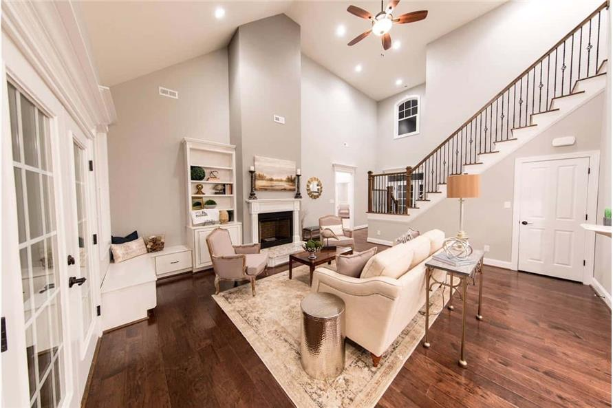 Family Room of this 4-Bedroom,2585 Sq Ft Plan -153-1856