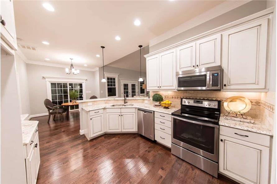 Kitchen of this 4-Bedroom,2585 Sq Ft Plan -153-1856