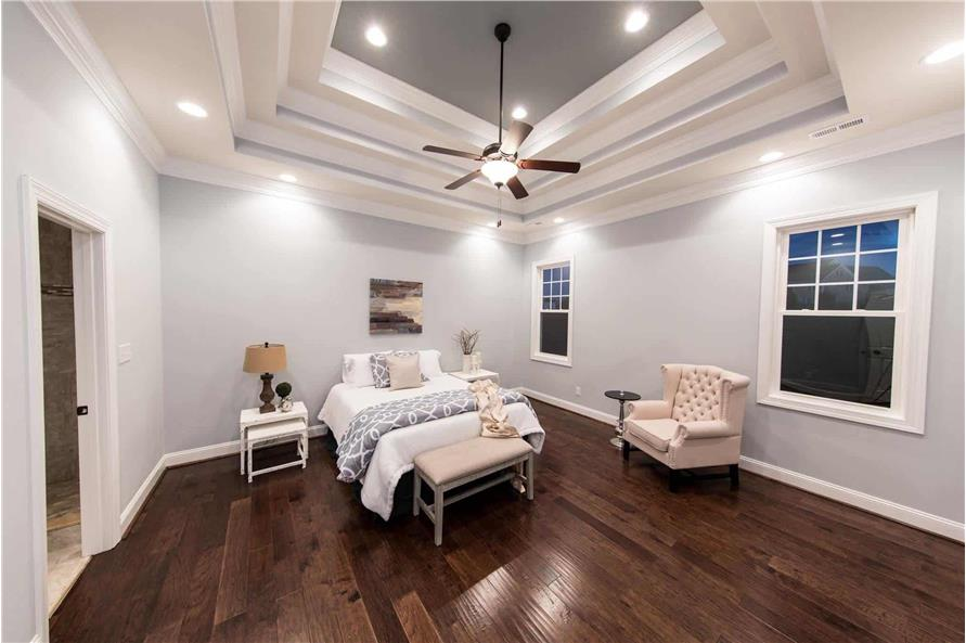 Master Bedroom of this 4-Bedroom,2585 Sq Ft Plan -153-1856