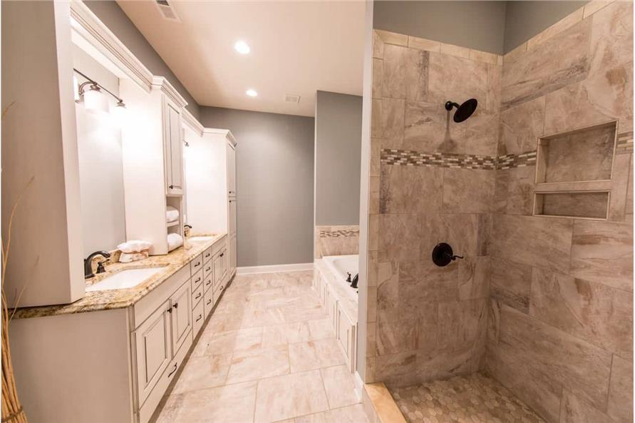 Master Bathroom of this 4-Bedroom,2585 Sq Ft Plan -153-1856