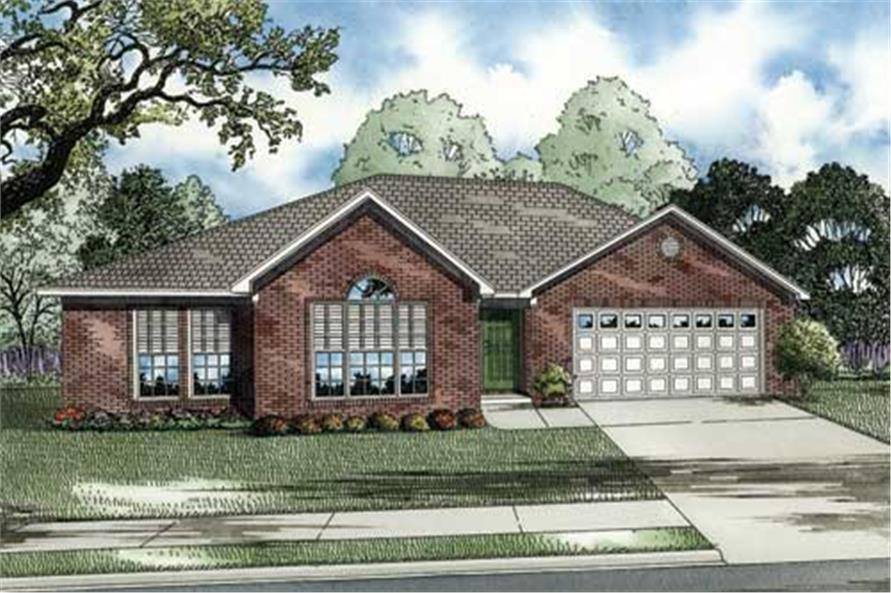 Main image for house plan # 17578