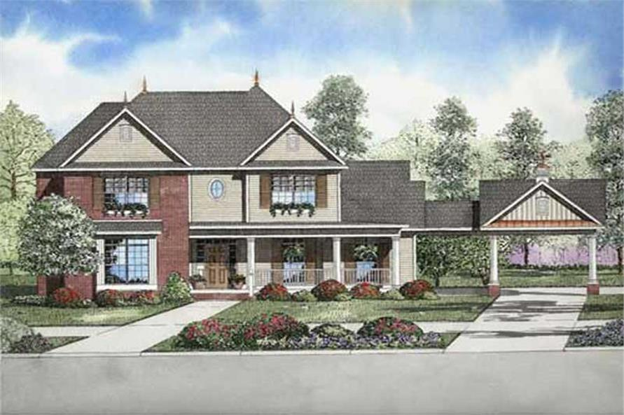 Main image for house plan # 9840